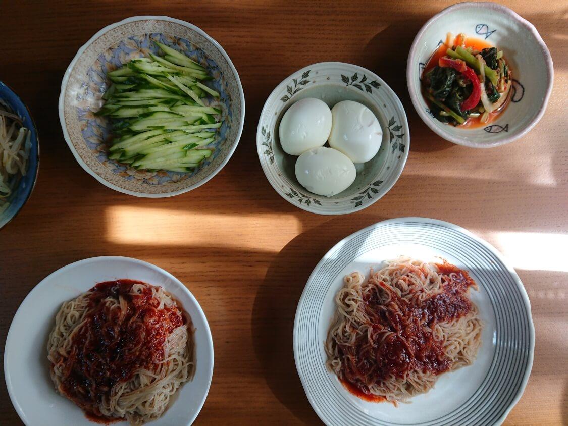 農心ふるるのビビン冷麺のソース