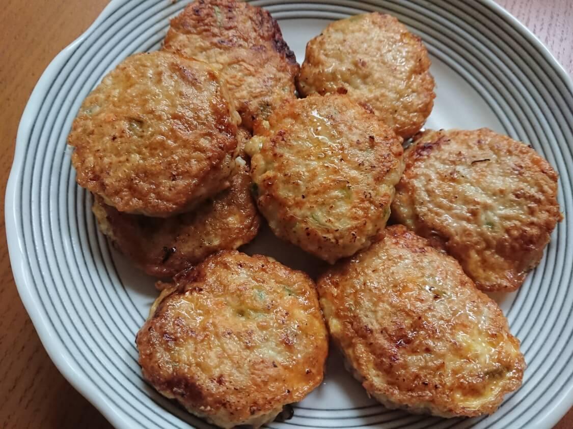野菜たっぷり韓国風肉団子トングランテンのレシピ ♪ひき肉のジョン・チヂミ