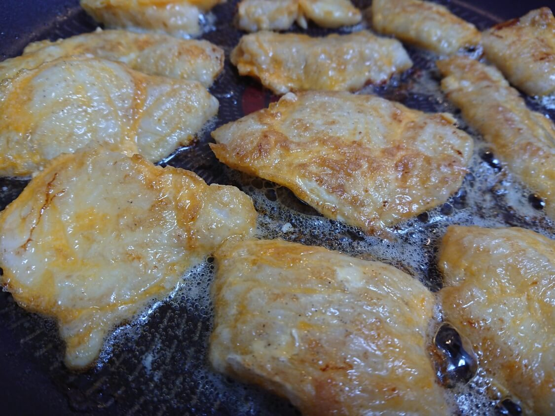 タラのジョン(白身魚のチヂミ)の韓国レシピ。簡単ヘルシー!