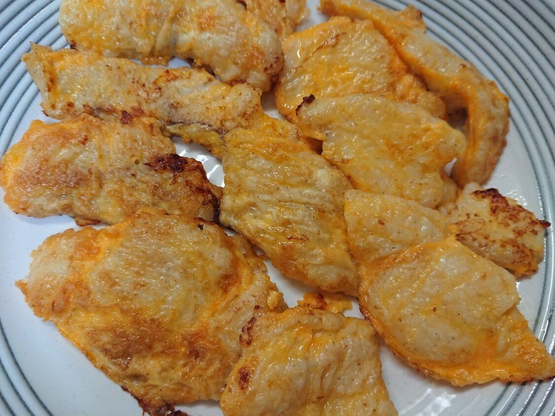 タラのジョン(白身魚のチヂミ)の韓国レシピ。完成