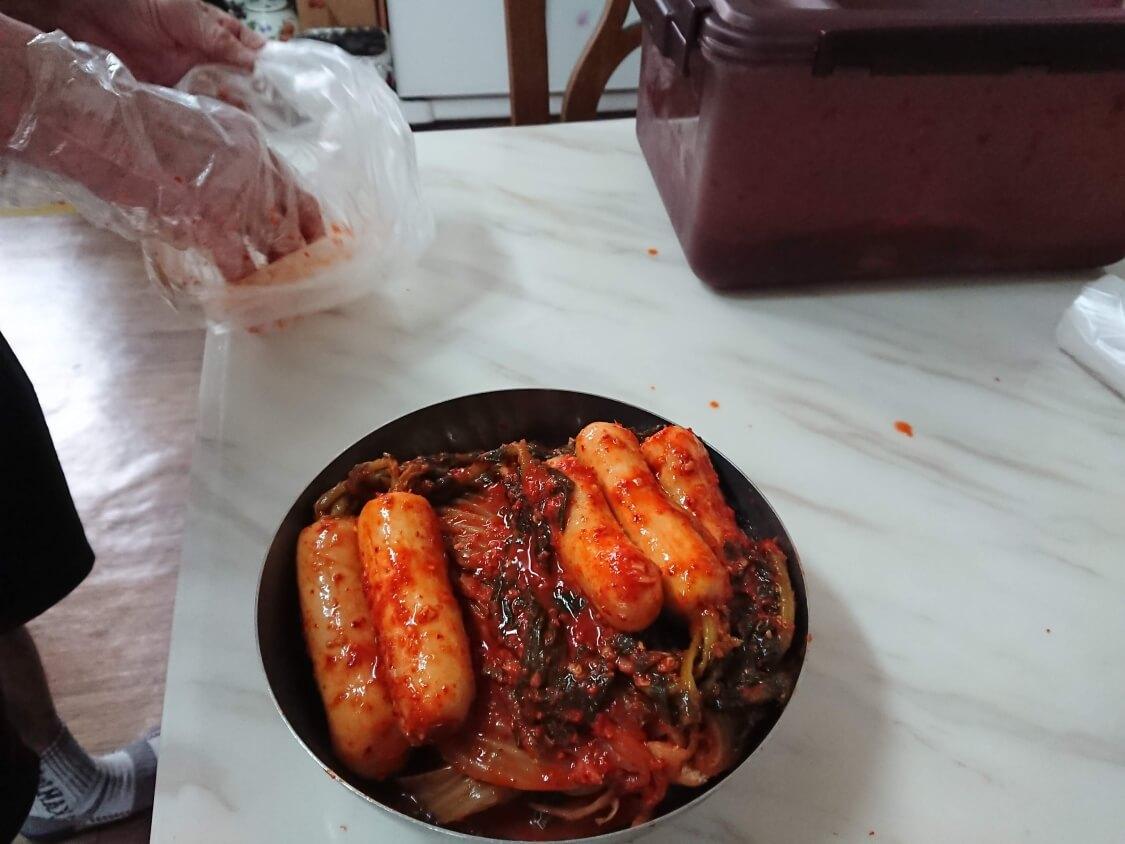 韓国キムチの種類:アルタリキムチ(チョンガクキムチ)