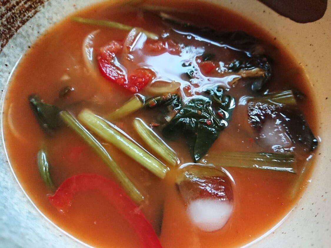 冷麺風キムチそうめんのスープの作り方、味付け