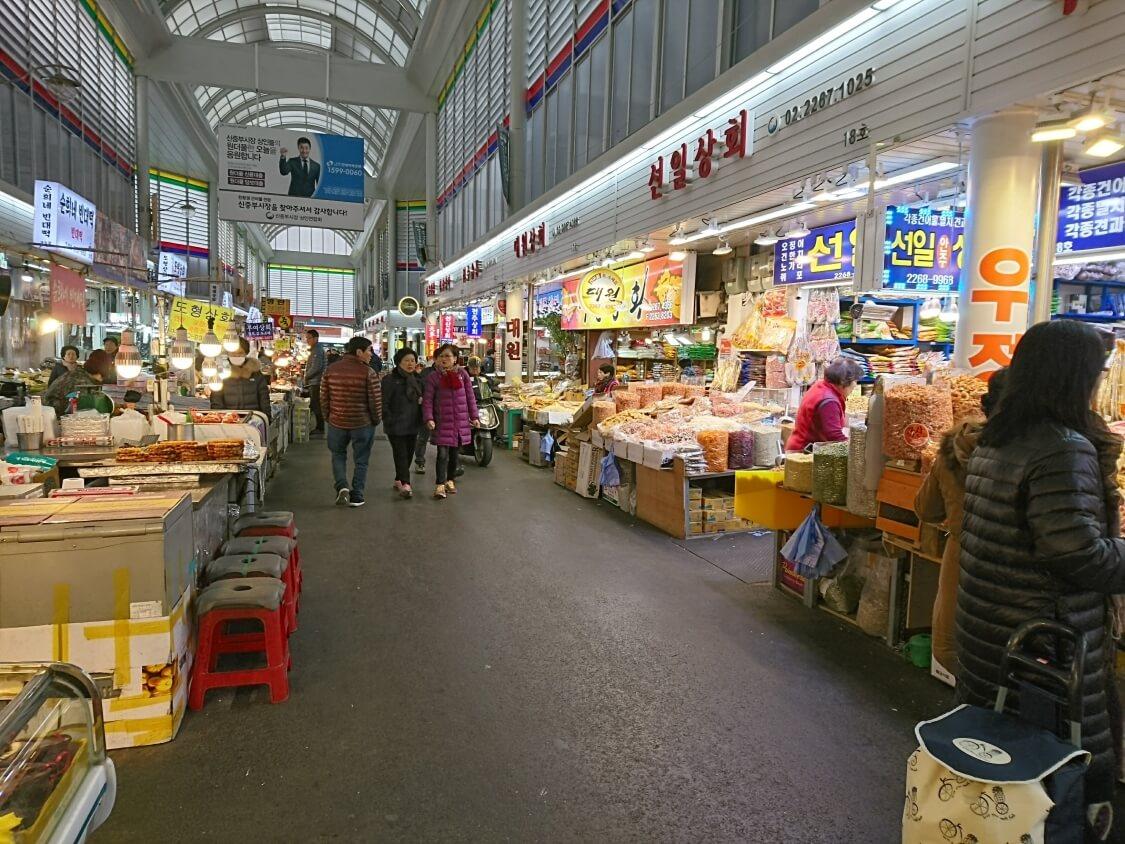 ソウル散歩。市場
