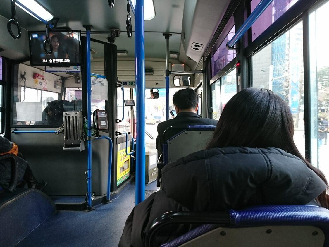 ソウルバスからの風景