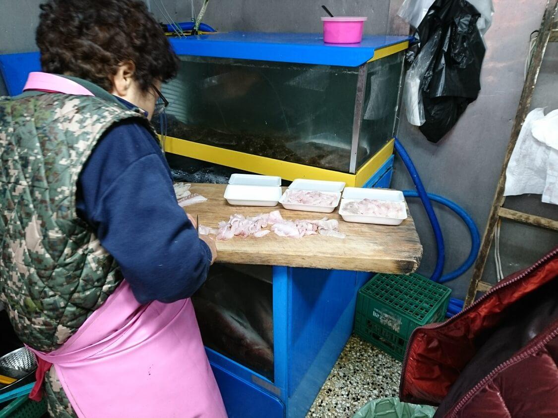 南大門市場カルチチョリム(太刀魚の煮付け)散歩