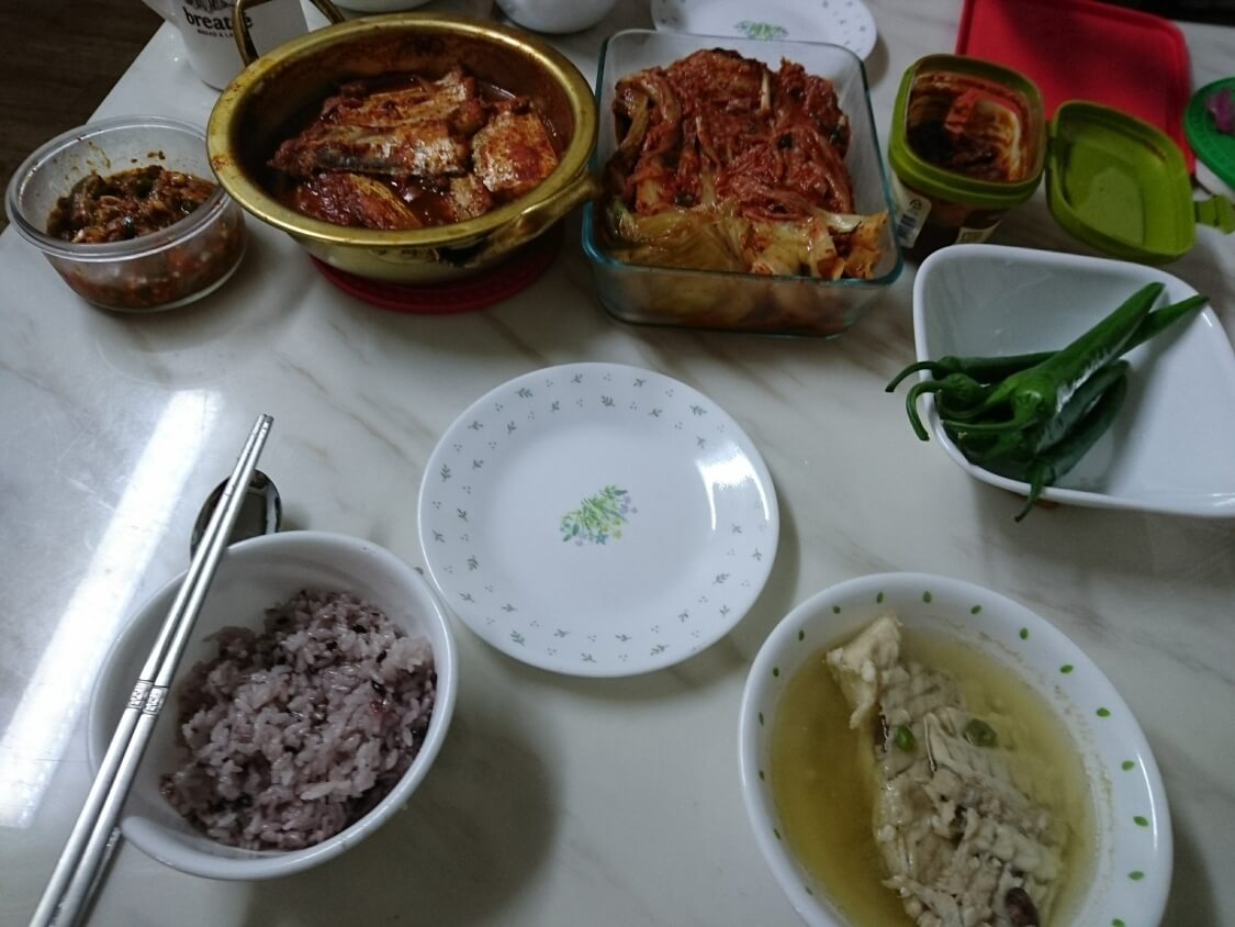 カルチチョリム(太刀魚の煮付け)