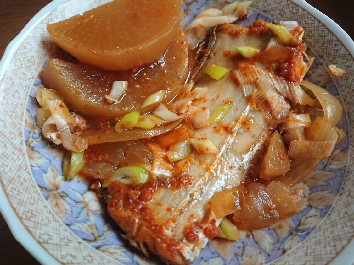 太刀魚の煮付けの韓国レシピ。カルチチョリム、本場の作り方