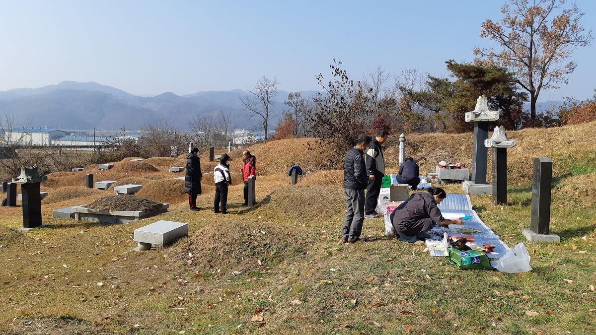 韓国のお墓と法事(제사 ジェサ)
