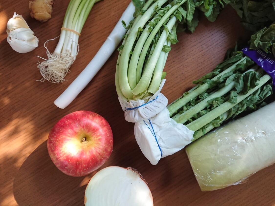 大根の葉入り!カクテキキムチの韓国レシピ。大根の葉の保存方法