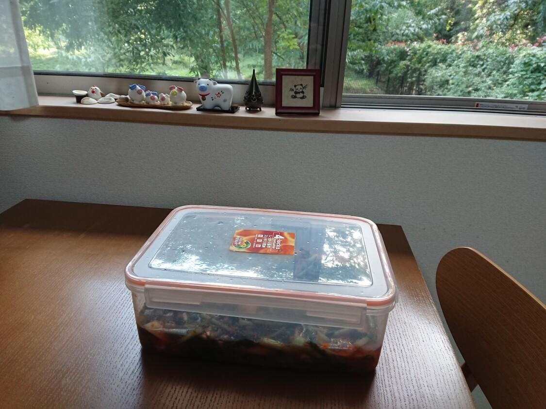 大根の葉入り!カクテキキムチの韓国レシピ。熟成期間(発酵期間)