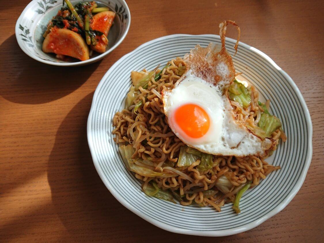 大根の葉入り!カクテキキムチの韓国レシピ。付け合わせ