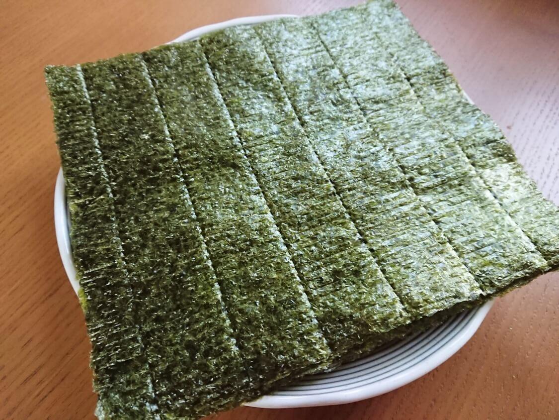 簡単!海苔の和え物の韓国レシピ