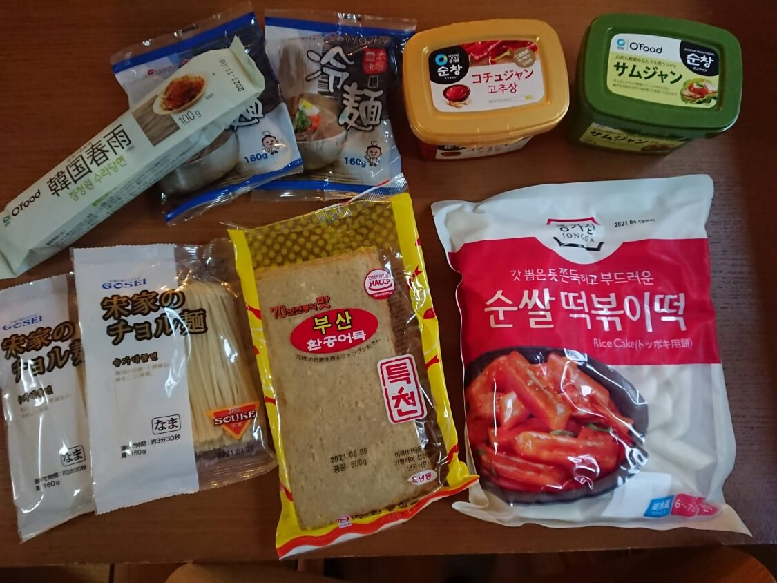 新大久保「ソウル市場」の買い物リスト。おすすめ韓国食品+調味料の値段