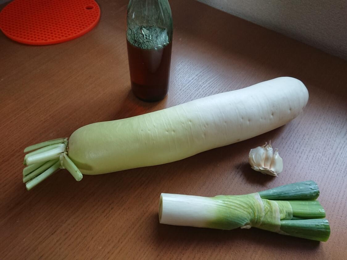 大根のナムル、簡単✕人気のレシピ。材料と調味料