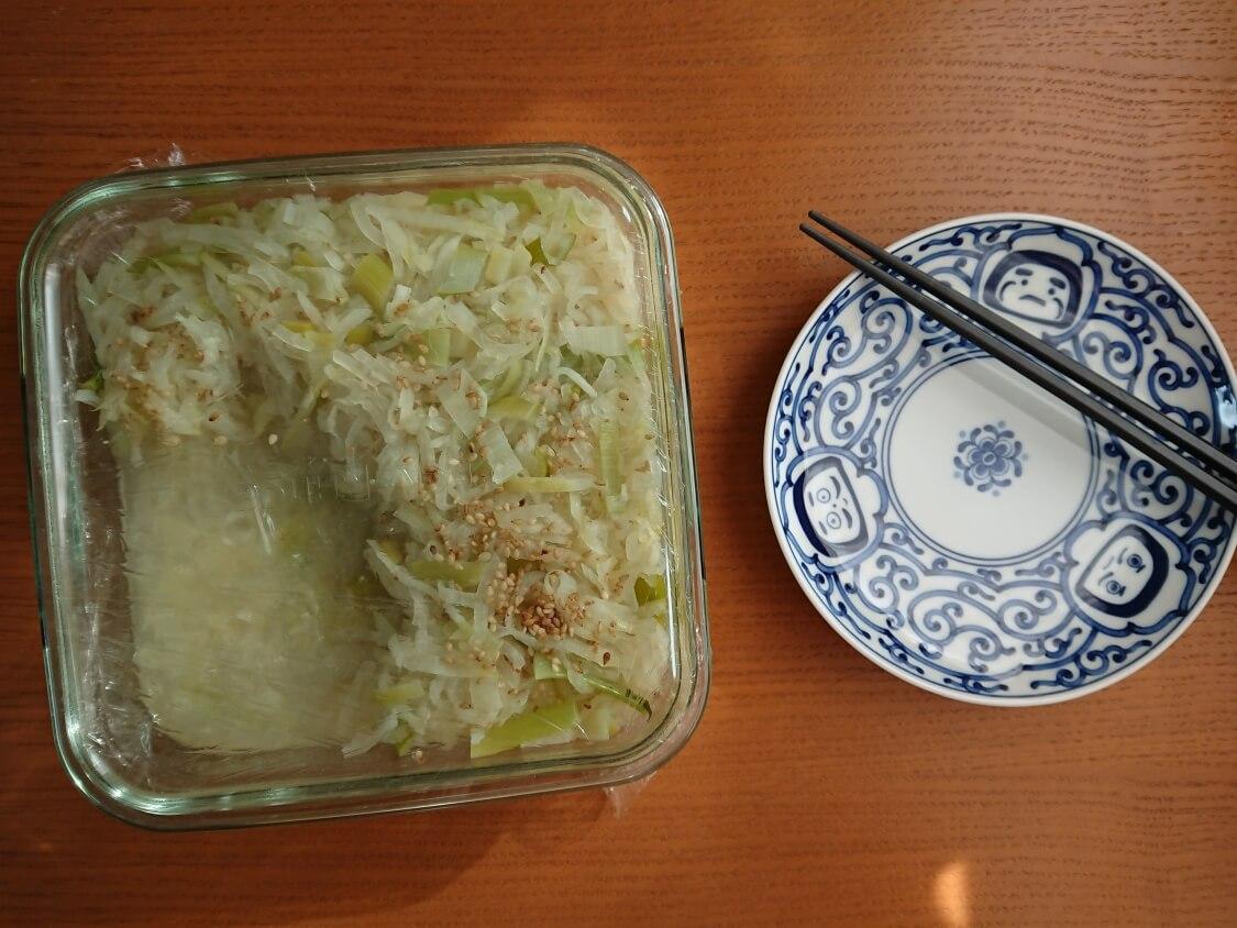 大根のナムルのレシピ。日持ちと保存