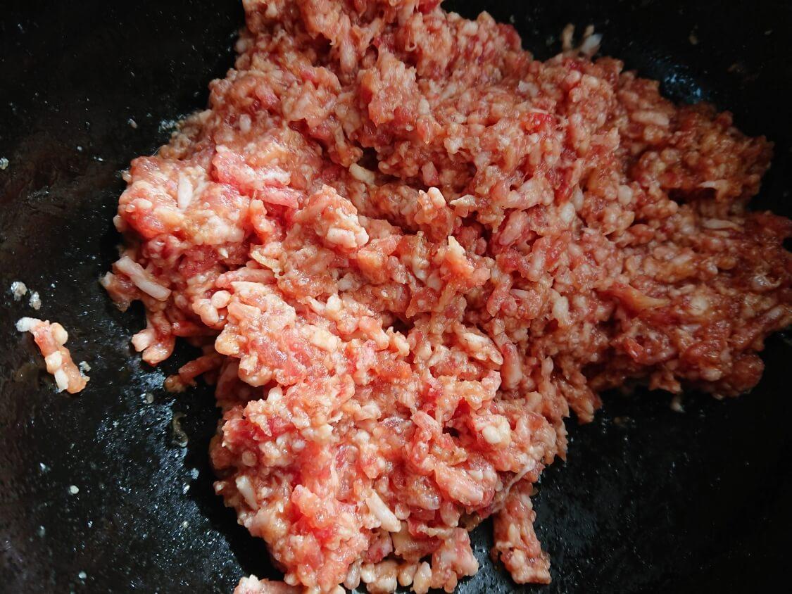 ハンバーガーの韓国レシピ。プルコギ味の甘辛パティの作り方。下味をしっかり