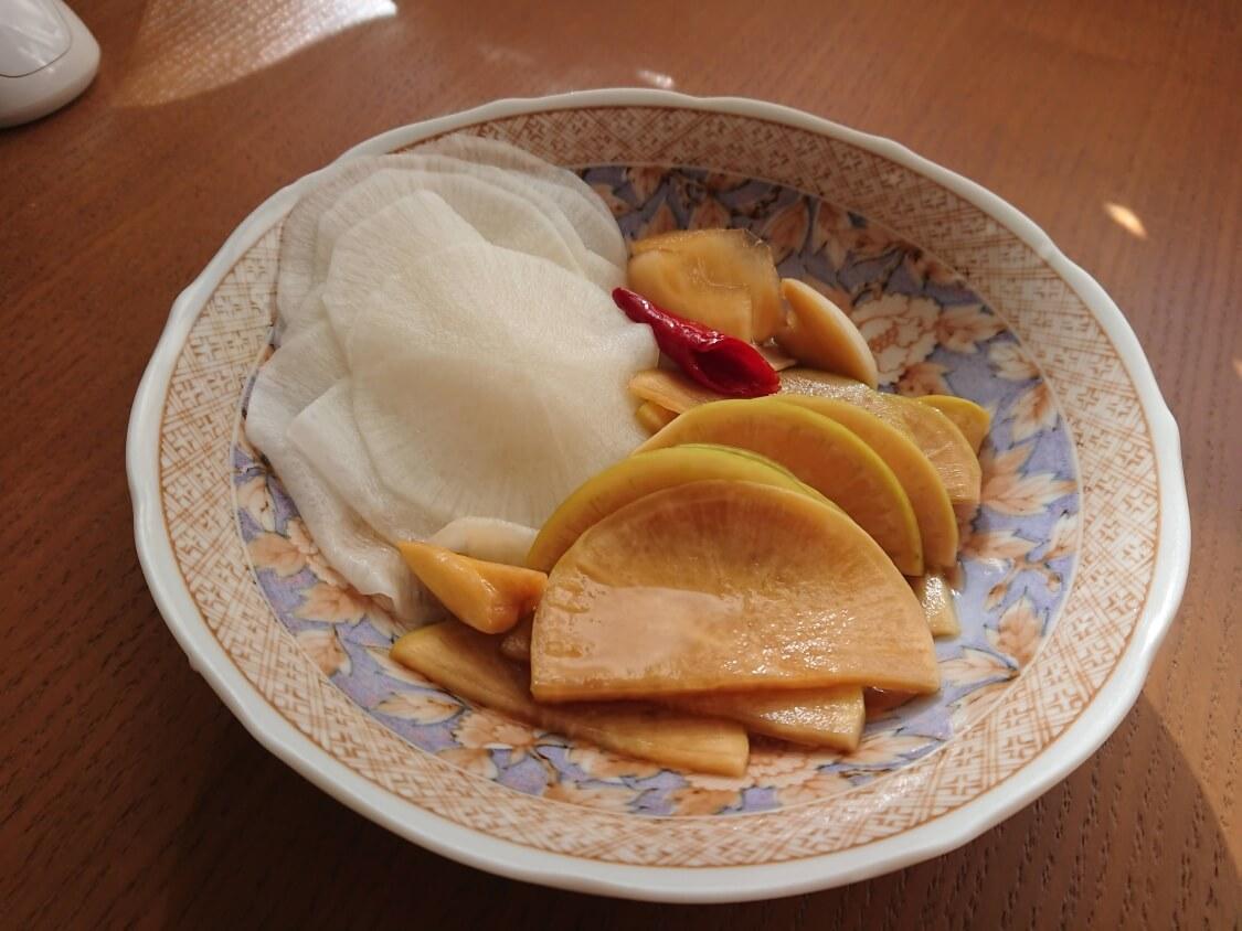 焼肉・サムギョプサル用大根の酢漬け「サンム」