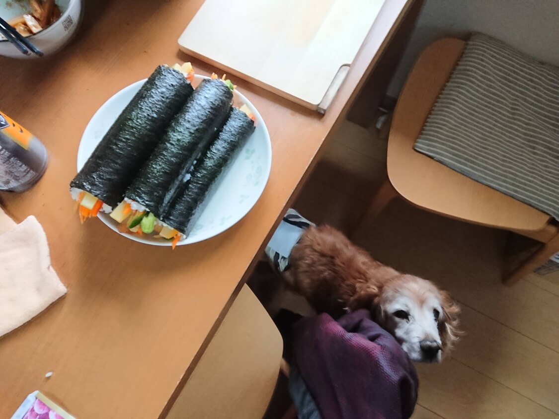韓国の海苔巻き「キンパ」ヘルシーな作り方