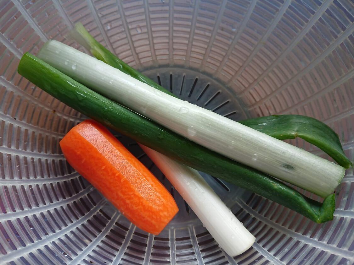 ねぎチヂミの簡単レシピ(長ネギだけOK)
