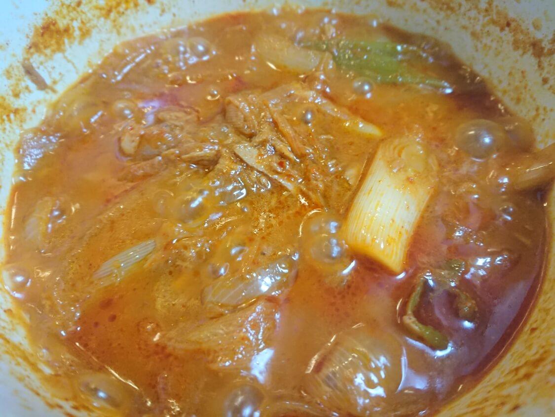 半熟煮卵のピリ辛コチュジャン煮レシピ