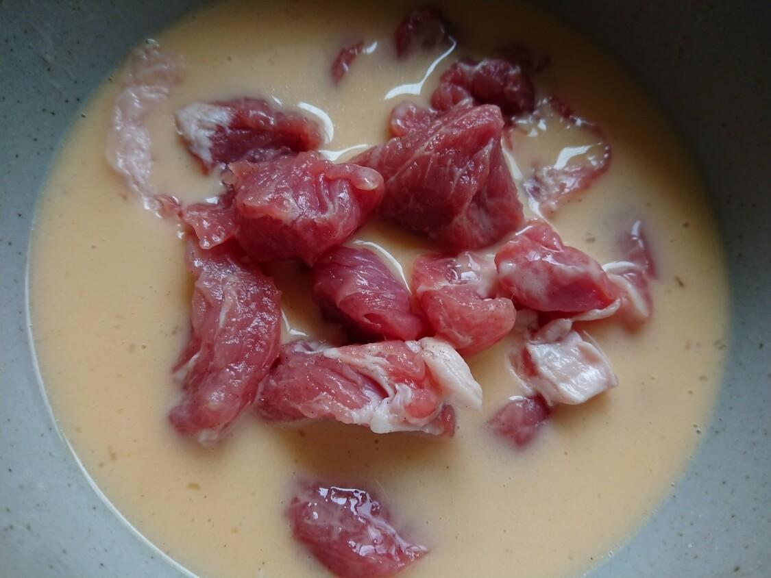 酢豚の人気レシピ。衣の作り方(韓国タンスユク)