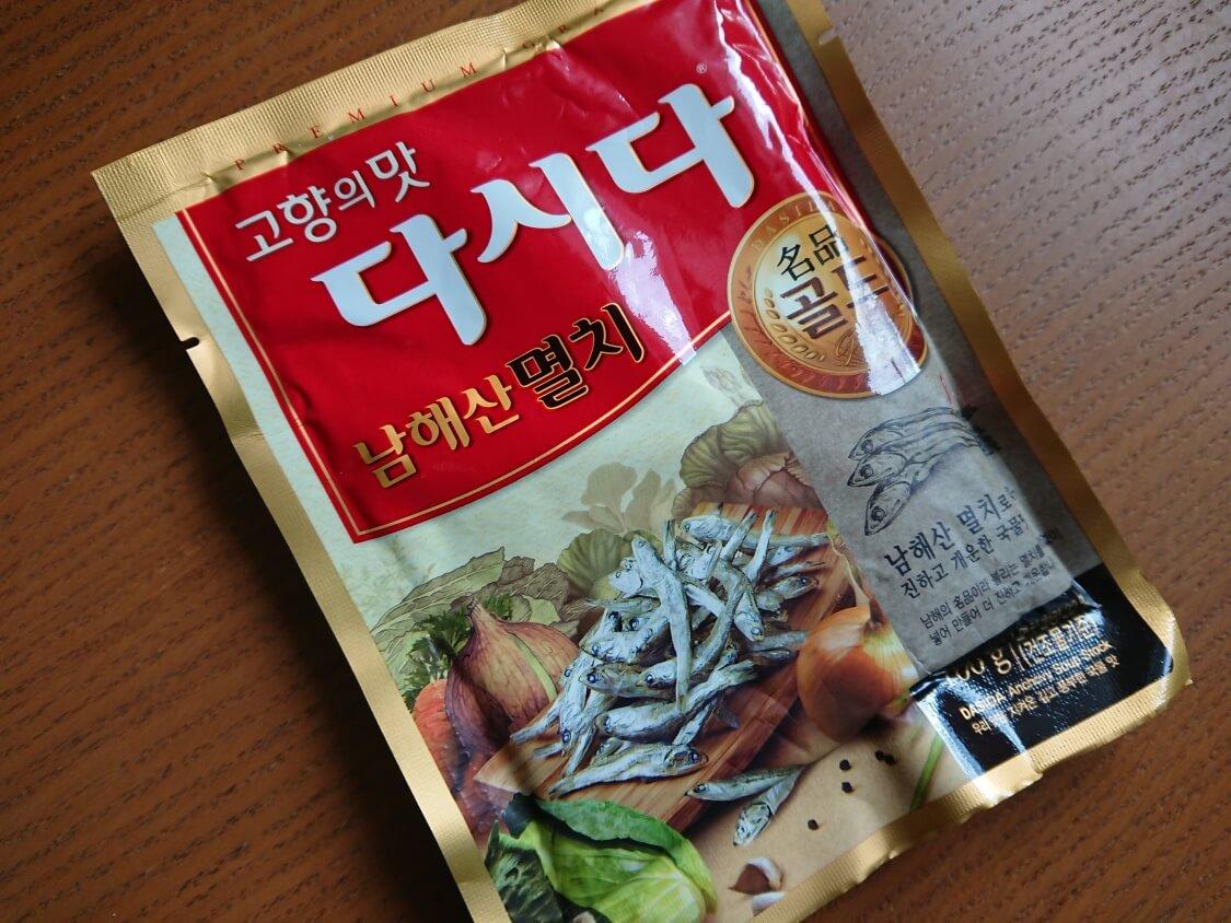 旨辛!豆腐チゲの作り方。韓国の調味料、煮干し出汁のダシダ
