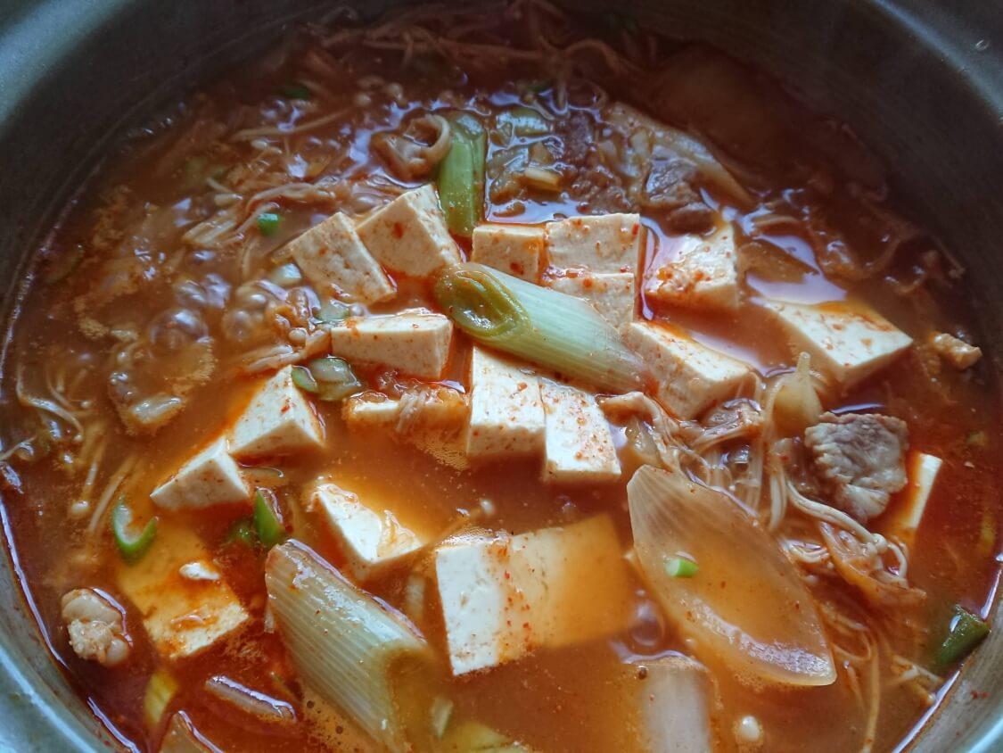 旨辛!豆腐チゲの作り方