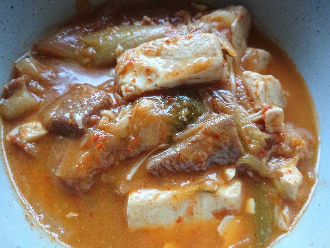 旨辛!豆腐チゲの韓国人気レシピ。作り置き