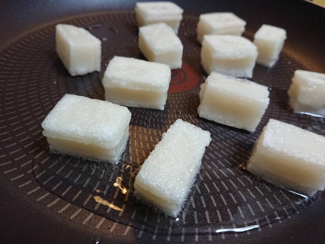 ヤンニョム揚げ餅の作り方。フライパンで簡単!