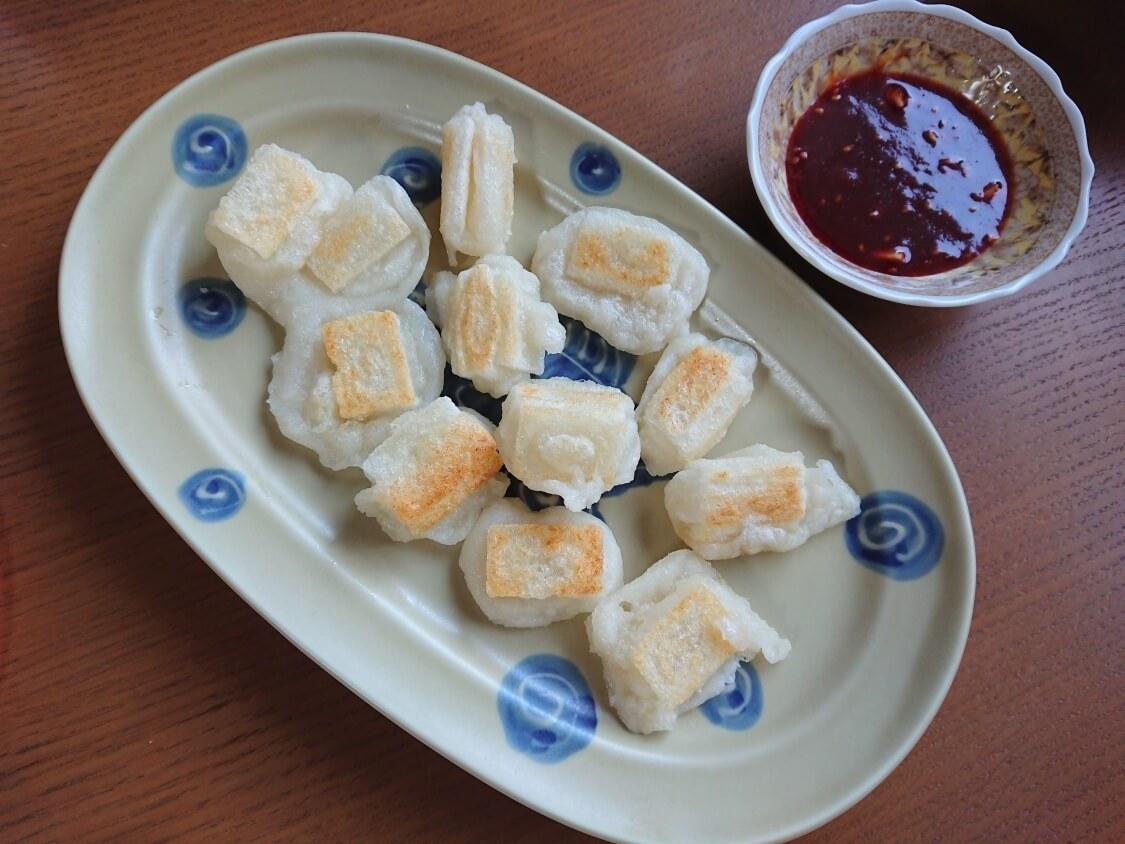 ヤンニョム揚げ餅の韓国レシピ。食べ方