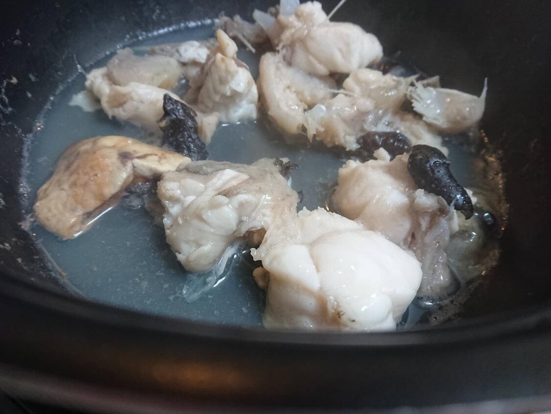 旨辛!あんこうの蒸し煮・アグチムの作り方。簡単レシピ