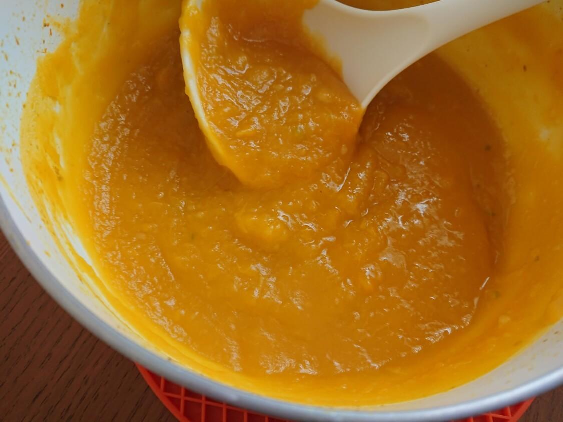 かぼちゃ粥(スープ)の作り方。韓国の簡単レシピ