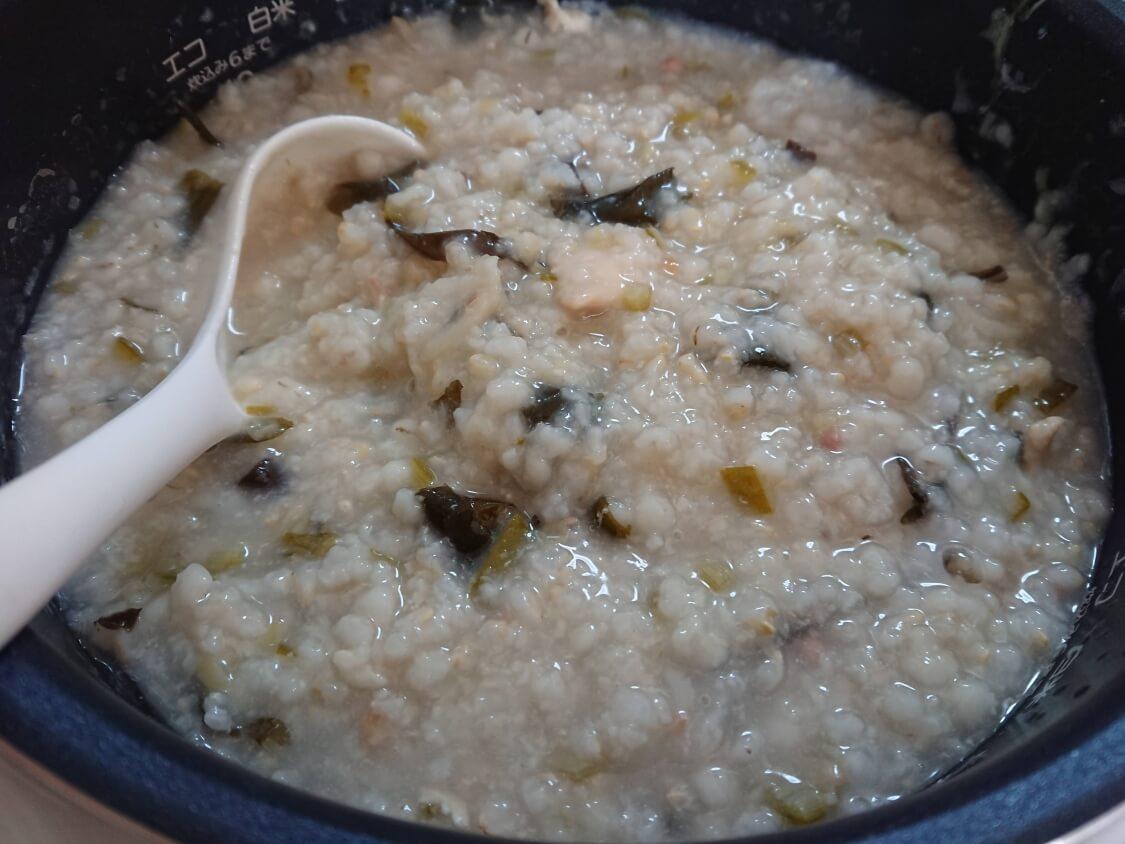 痩せるおかゆ!ダイエット食「沼」のレシピ。完成
