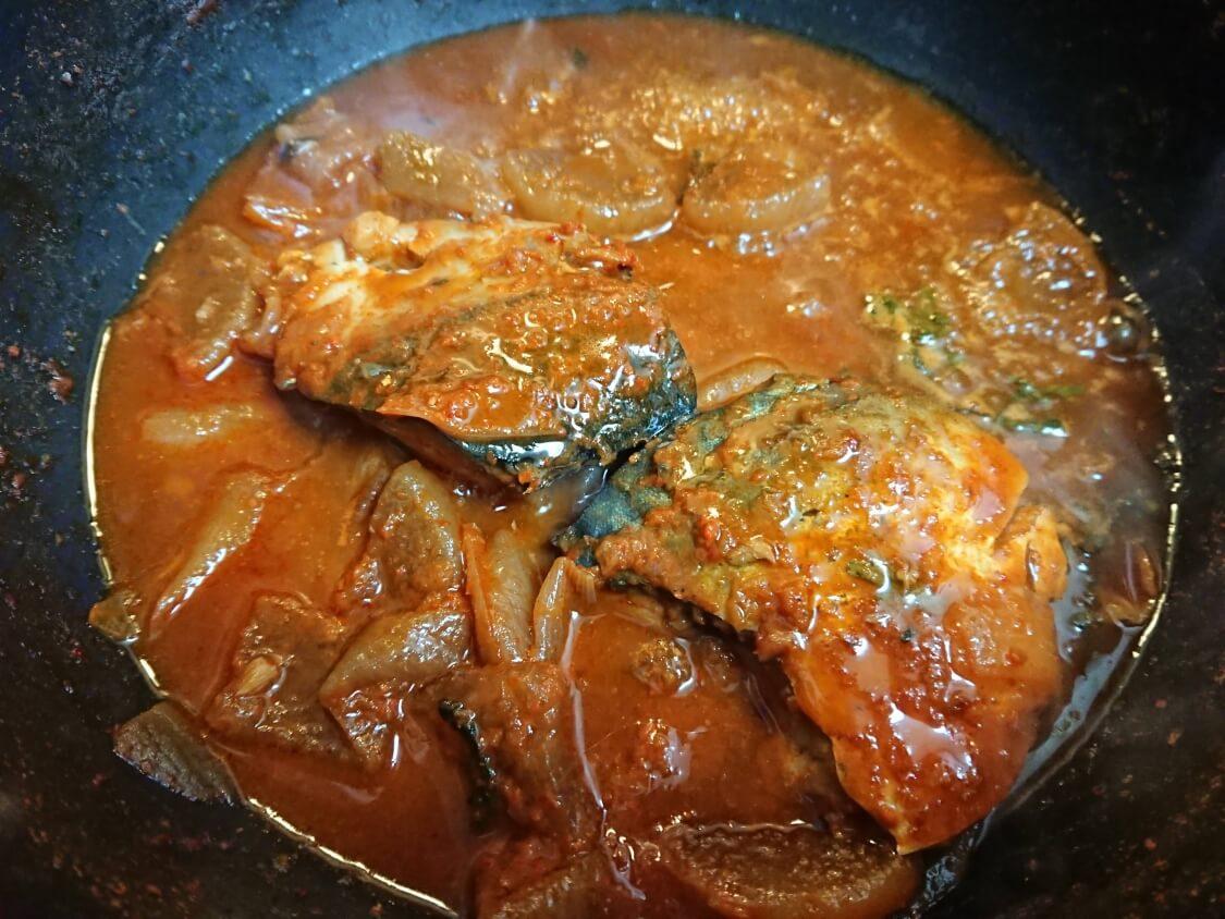 サバの煮付けのレシピ。二日目の韓国コドゥンオチョリム