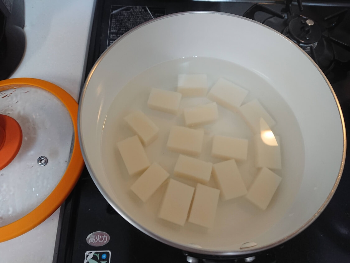 切り餅で簡単!きな粉餅の作り方