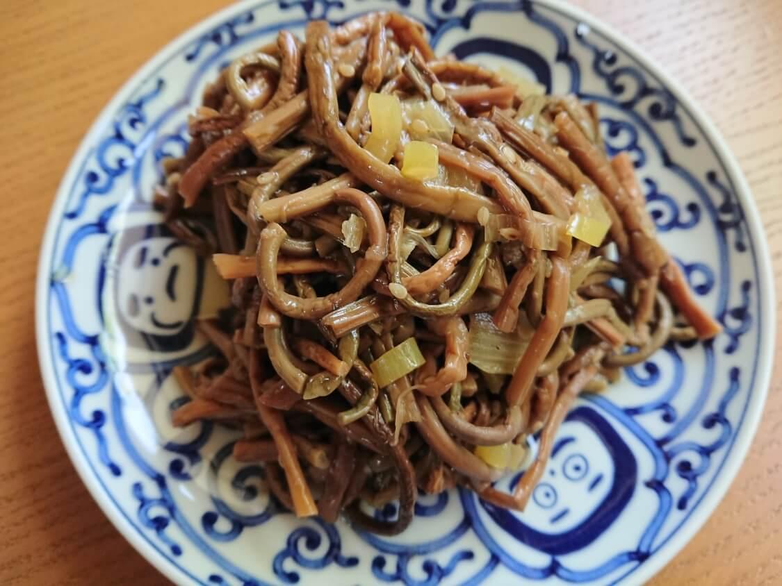 ぜんまいナムル+韓国わらびナムルの人気レシピ。ビビンバにも♪山の牛肉コサリナムル