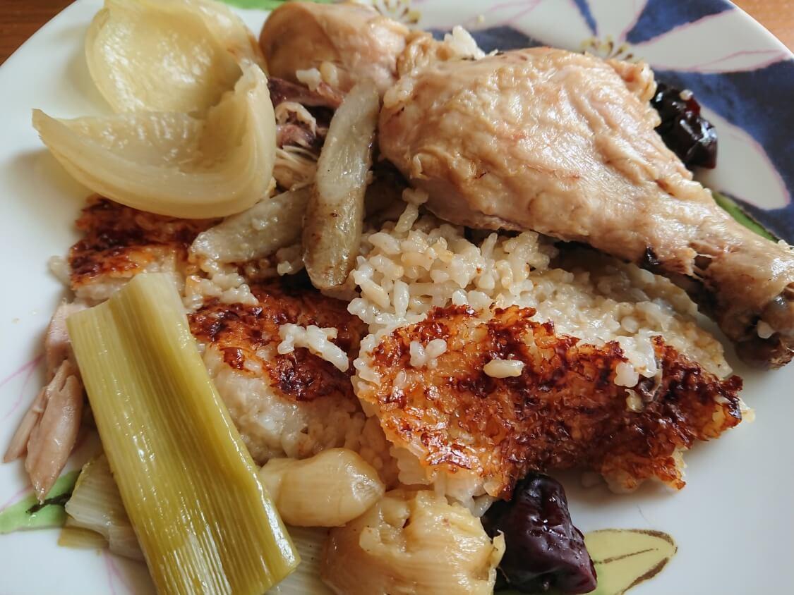炊飯器で作るサムゲタンとペクスクのレシピ