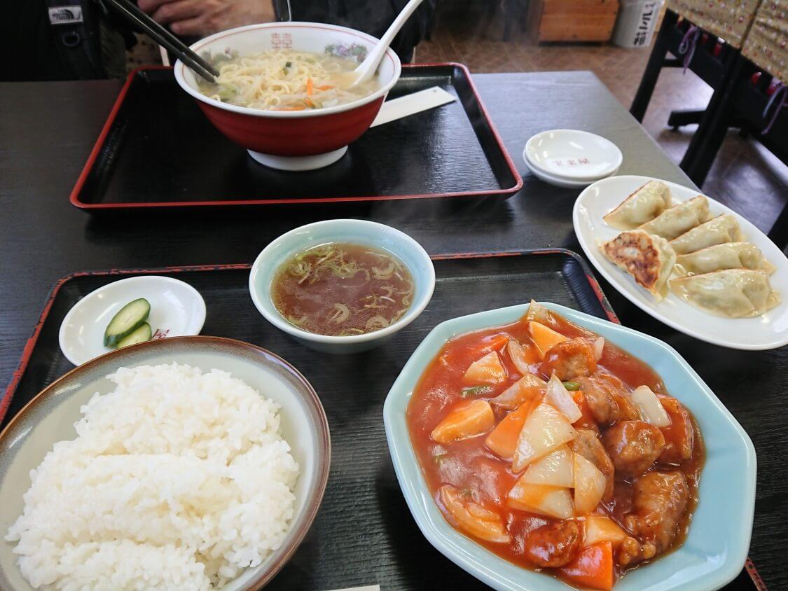 酢豚と韓国のタンスユク