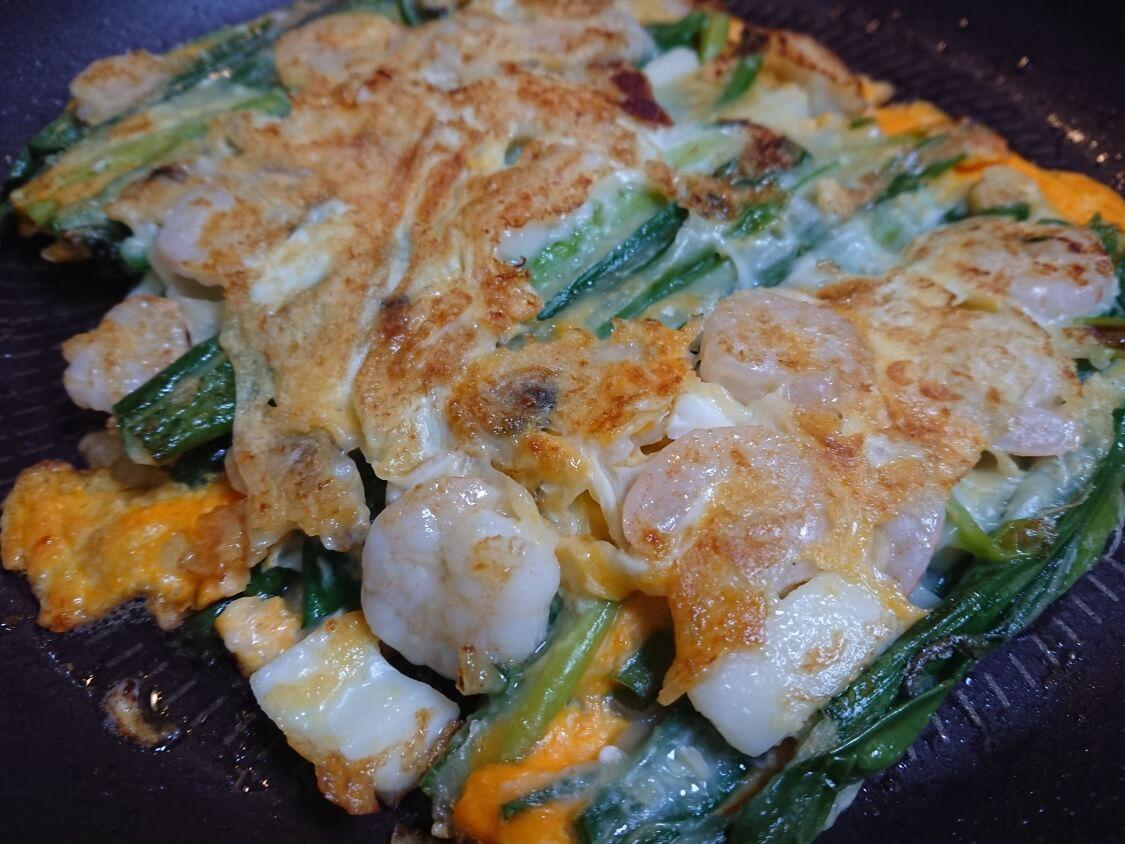 海鮮ねぎチヂミの韓国レシピ