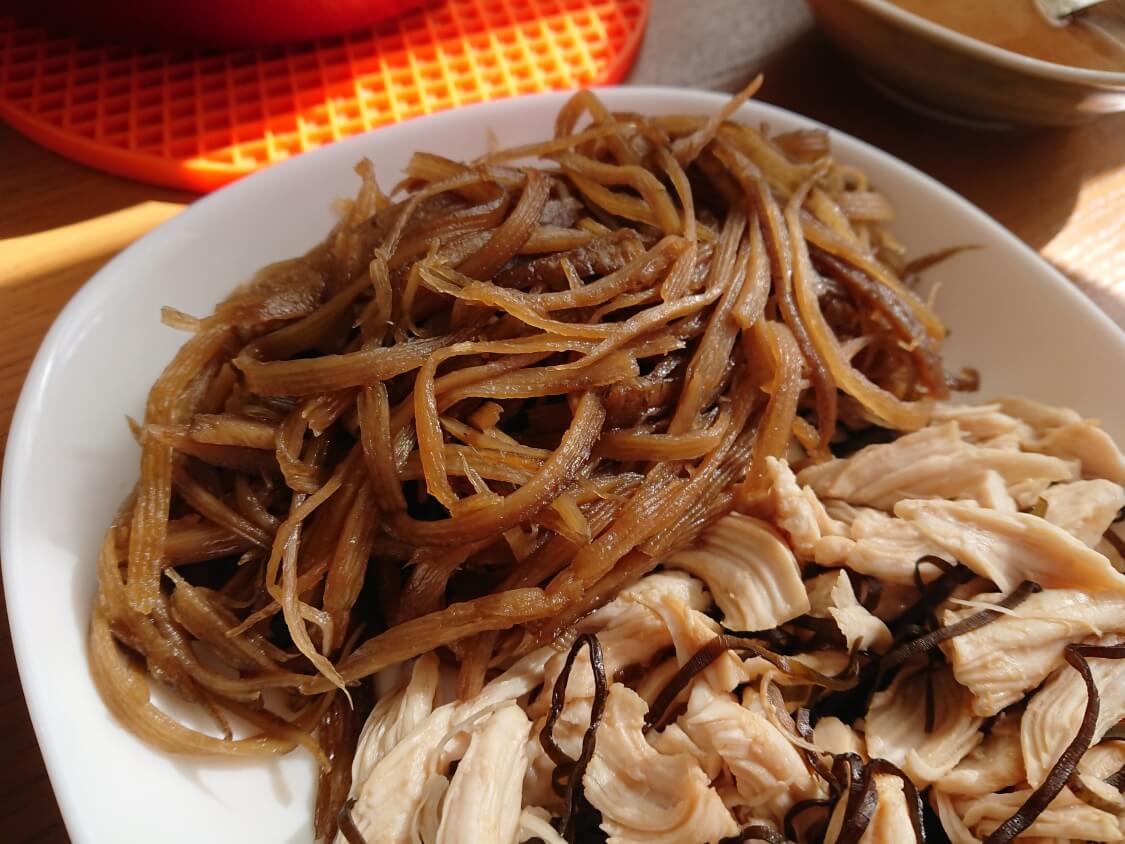 甘辛きんぴらごぼうの韓国レシピ♪ご飯のお供に