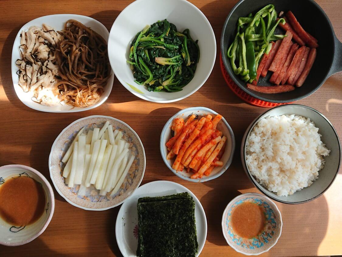 甘辛きんぴらごぼうの韓国レシピ。キンパの具材にも♪ごぼうキンパ