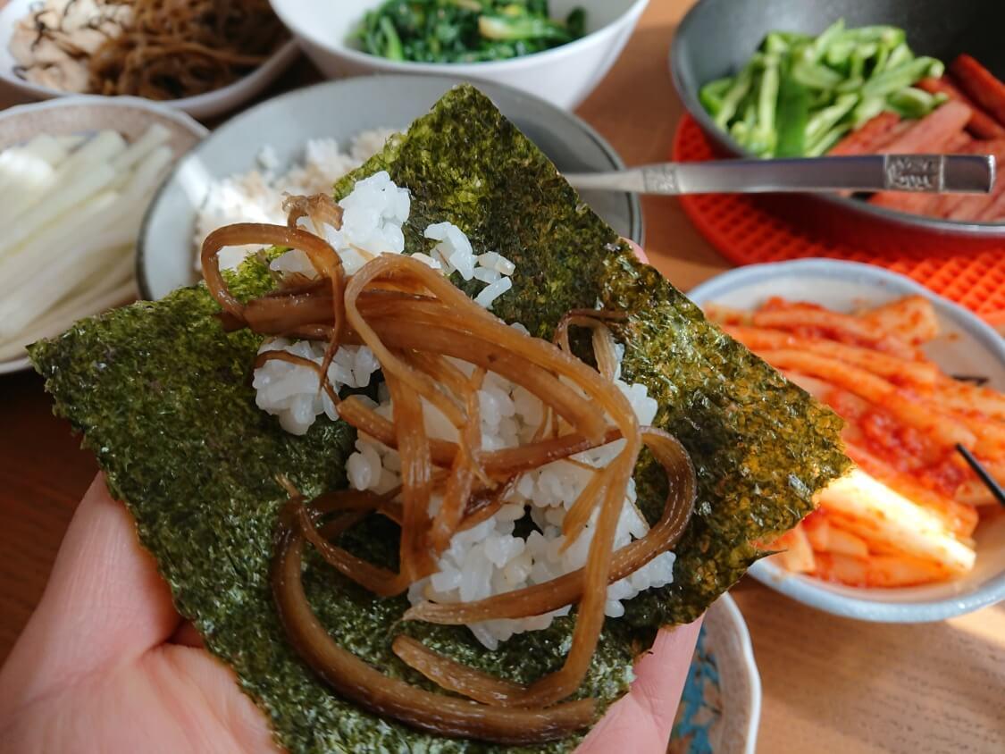 ご飯のお供に!きんぴらごぼうの韓国レシピ。キンパの具材にも良い柔らかい食感♪