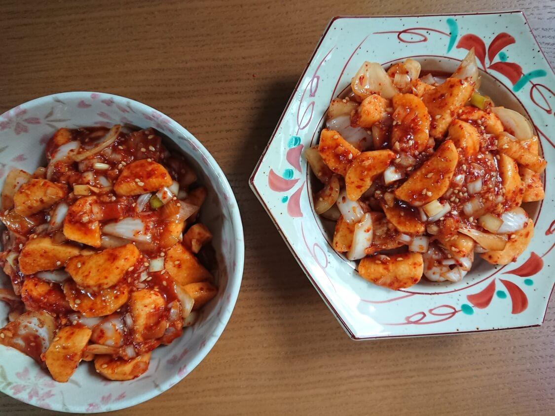 簡単本格!長芋キムチ(マカクテキ)の韓国レシピ。量と作り置きおかず