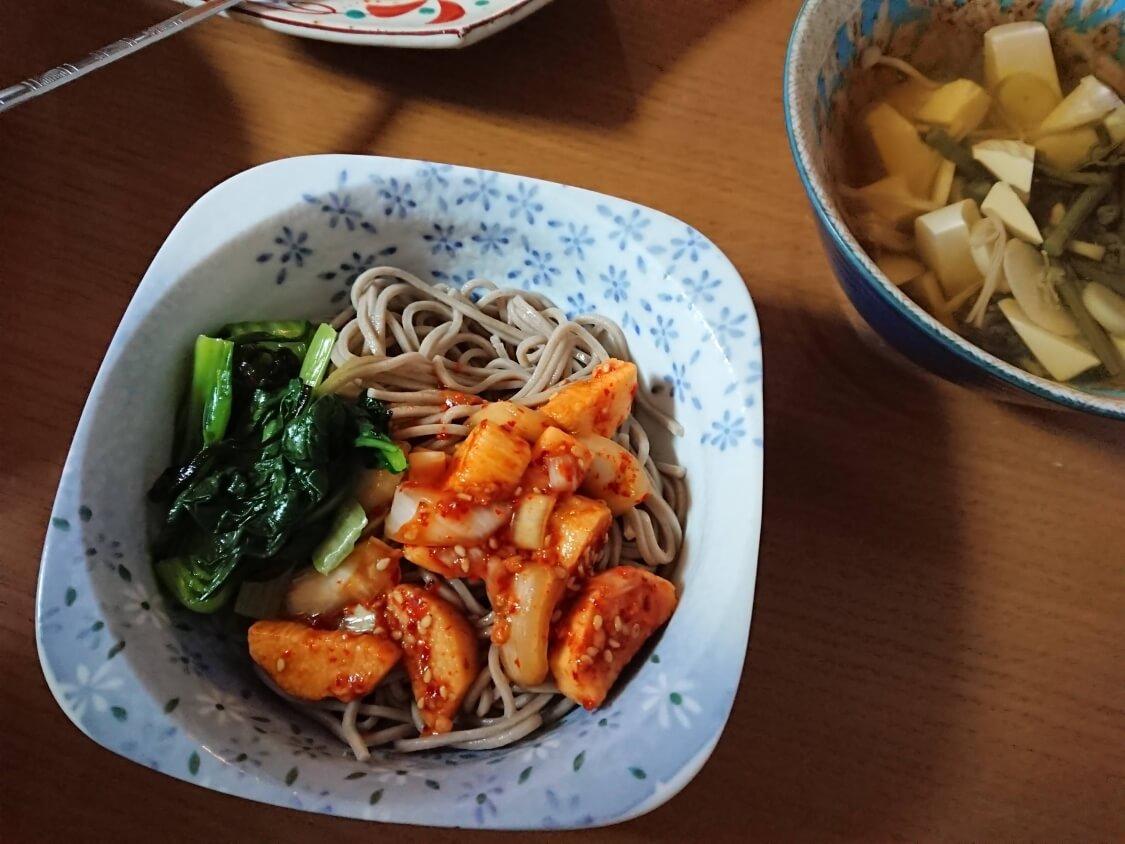 簡単本格!長芋キムチ(マカクテキ)の韓国レシピ。和食にもよく合うキムチ