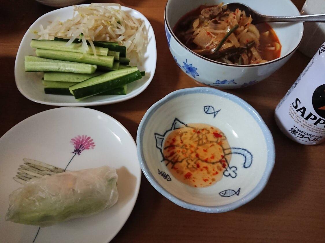 簡単!うま辛ユッケジャンの韓国人気レシピ。付け合わせ