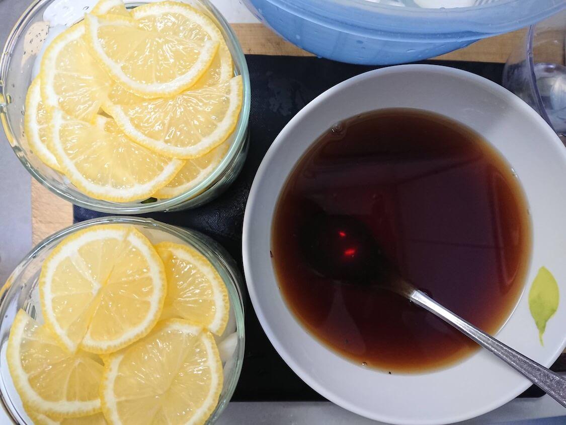 新玉ねぎの酢しょうゆ漬けの韓国レシピ。タレの作り方