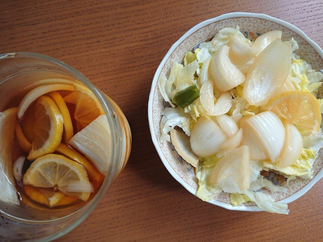 新玉ねぎの酢しょうゆ漬け、韓国人気レシピ。サラダのドレッシングにも活用
