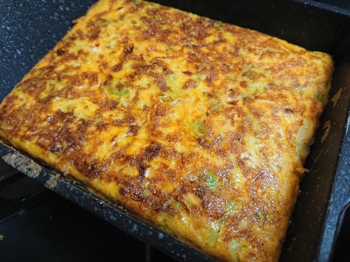 韓国屋台のトースト