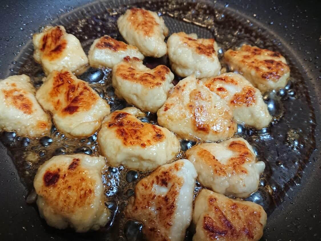 ニンニク香る♪ささみの甘辛キチン。詳しい作り方。タレと調味料