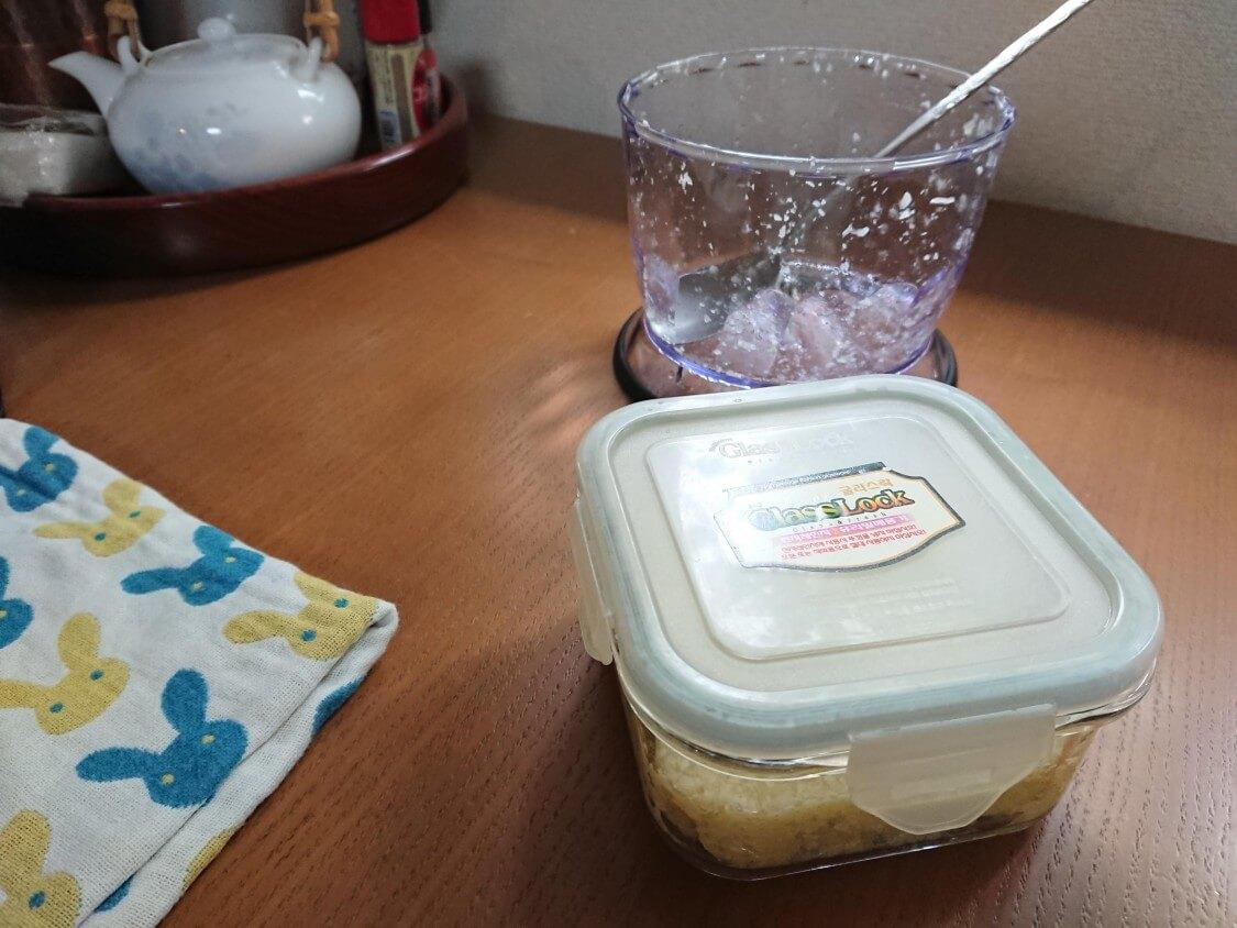 韓国式!にんにくの長期保存方法。みじん切りにする料理が楽ちん♪冷蔵・冷凍OK